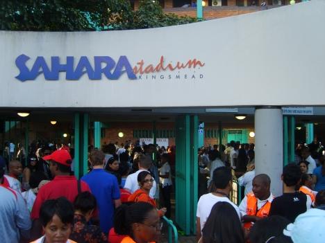 Sahara Stadium Kingsmead gates