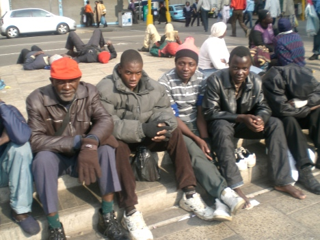 Zimbabwe refugees