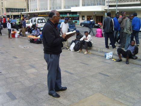 Thomas preaching