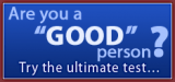 01 – Are You A Good Person?