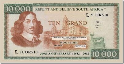 Ten Grand Note