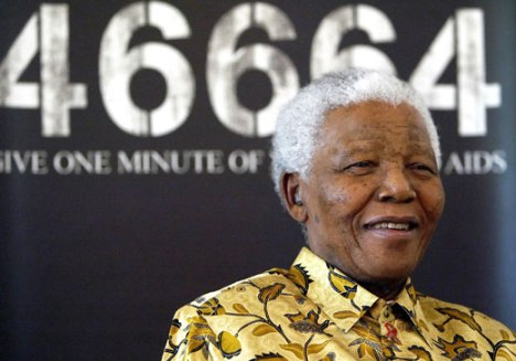 Nelson Mandela and the Iconic man