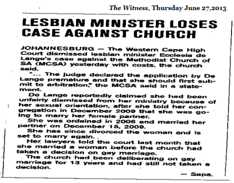 Lesbian Minister