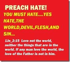 Preach Hate