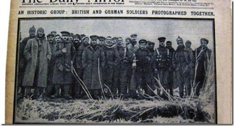 The Christmas Truce - 100 Years Ago