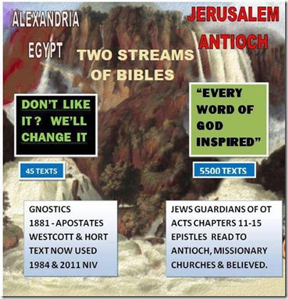 Two Streams of Bibles