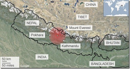 Nepal Earthquake - Click to open press report