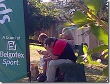 A gentleman reading a Gospel tract