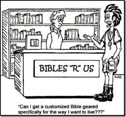 """Bibles """"R"""" Us"""