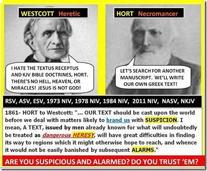 Westcott and Hort