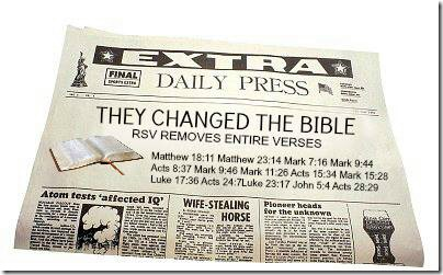 They Changed The Bible