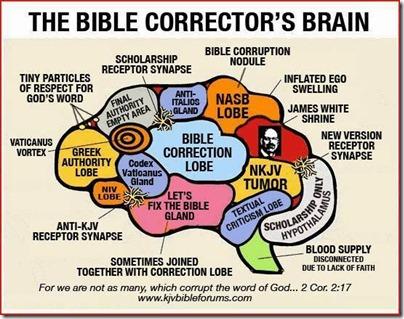 The Bible Corrector's Brain