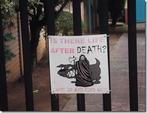 Is There Life After Death? Come In And Find Out!