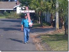 Walking for Jesus