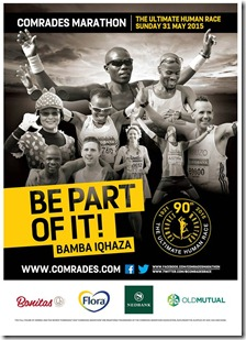 Comrades Poster 2015