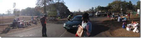 The food vendors