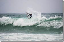 Aljeo throwing some air JBay Heat 4