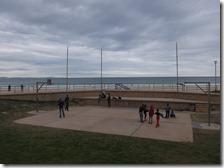 Main beach basketball court