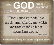 Leviticus 18:22 KJB