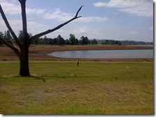 At Midmar Dam: Morgenson Campsite opposite Blackhurst Peninsular