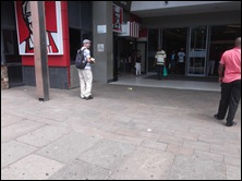 Jono making tract distribution