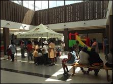 Scottsville fundraiser in the Mall @Scottsville