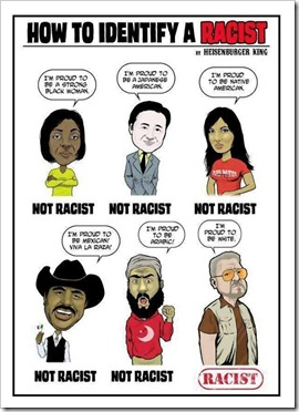 How to identify a 'Racist'