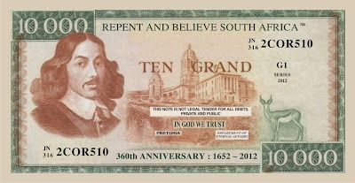 Ten Grand Note Front ~ Click to open
