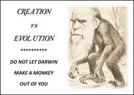 Creation vs. Evolution: Click to read Tract