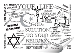 Your Life~ God's Solution to Your Religion: Click to read Tract