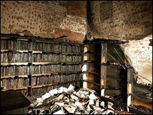 At Howard College in Durban, the law library and a nearby cafeteria were burnt down.