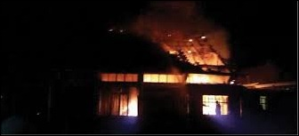 UKZN campus arson destruction