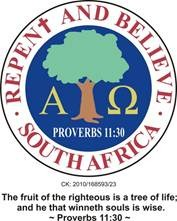 Repent and Believe South Africa CC logo
