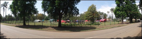 A panoramic view of the venue in Alexandra Park, Pietermaritzburg