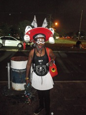 A 'mixed-up' Orlando Pirates supporter!