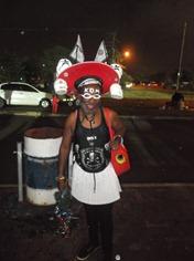 A 'mixed-up' Orlando Pirates supporter!