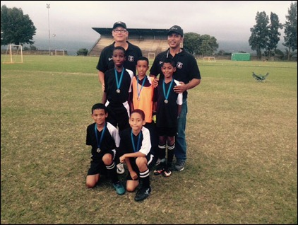 Pirates F.C. Under 10 Runners-Up 5-a-side team