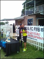 Bryce Moon of Maritzburg United in the yellow played his junior football at Pirates F.C.