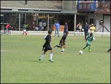 Kaydon Adonis and Curt Rogers attacking vs. Westside Lads