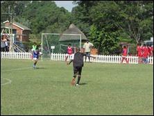Thando Hlophe attacking vs. Savages Blue
