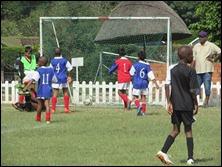 Goal vs. Savages Blue