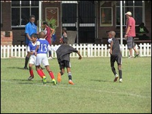 Pirates taking on the Savages' defence