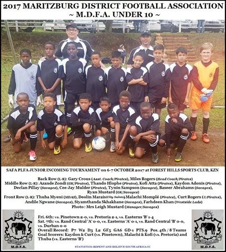 2017 M.D.F.A. Under 10