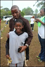 Thulani Zondi and son Azande