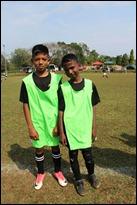 (L) Declan Pillay and (R) Farhdeen Khan