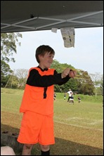 M.D.F.A. U10 Goalkeeper Ryan Mustard