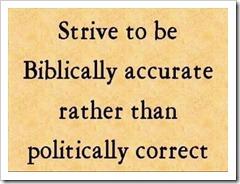 Be Biblical, a Biblicist