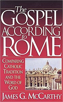 The Gospel According to Rome Book Front Cover