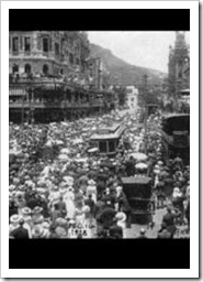 Cape Town two-minute silence 1918 (Pic: SA History Online)