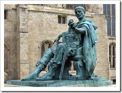 Statue of Emperor Constantine
